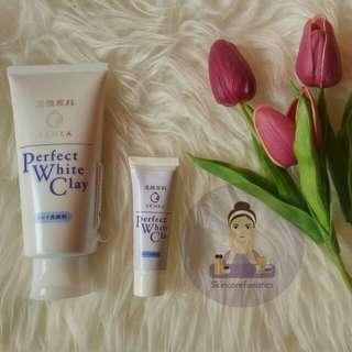 (Share / Travel Size) Senka Perfect White Clay