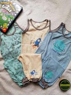 Pajama & Sando 3 sets bundle