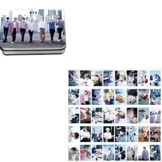 Preorder - BTS LOMOCARD WITH TIN *EACH* exc.pos