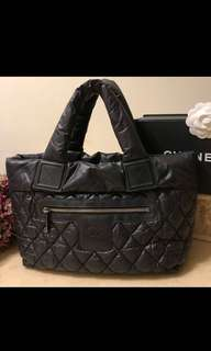 Chanel黑色太空包(正品)