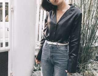 Longsleeve black top