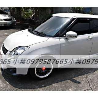 專辦全額貸 零元可交車 2008 鈴木汽車 SWIFT  1.6 白色 自排