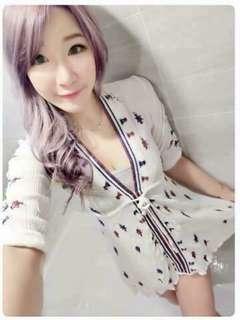 🚚 全新現貨代購💲890 今天訂明天出❤️   #韓妞最愛高品質正韓波希米亞風縮腰洋裝