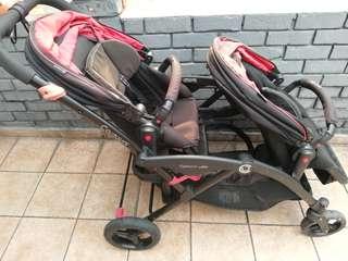 Contours Elite twins stroller