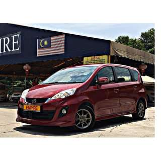 PERODUA ALZA 1.5 ( A ) ADVANCE EDITION !! FULL BODYKIT !! NEW FACELIFT !! PREMIUM FULL SPECS !! ( WX 8857 X ) 1 CAREFUL OWNER !!
