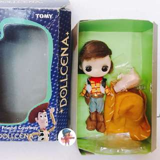 迪士尼 toystory 胡迪 b女 玩具