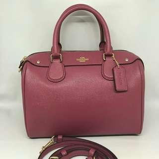 Coach mini Bennett sz 23x15 Rouge Pink