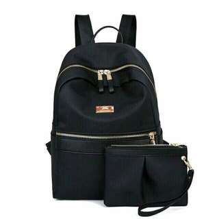 2in1 Black Bag