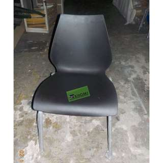 10pcs SC-9076 STACKABLE CHAIRS COLOR BLACK--KHOMI