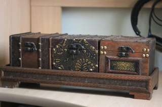 Wooden box 特色木箱