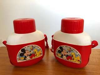 Rare vintage Mickey Mouse Cooler Bottle new old stock