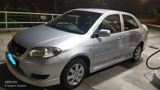 Toyota vios  1.5 auto 2006/07 Rm4,900