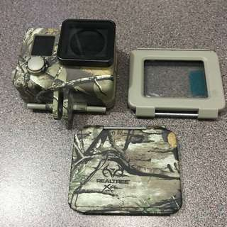 GoPro Hero 4 Silver Realtree casing