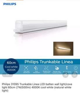 Philips Lighting used as Cove light