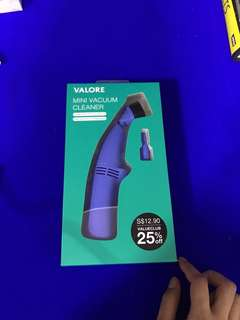 VALORE Mini Vacuum Cleaner for mobile keyboard/keyboard