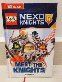 Lego Nexo Knights Book - Meet the knights