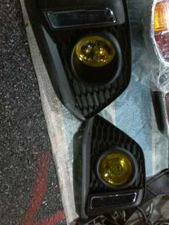 Fog lamp honda jazz sport light