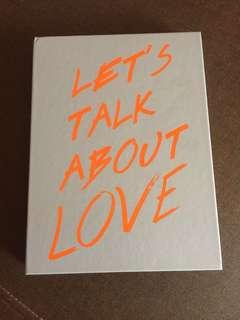 Seungri 2nd mini album ( Let's talk about love)