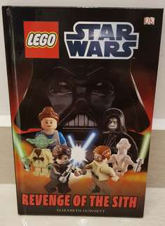 Lego Star Wars Book - Revenge of the Sith