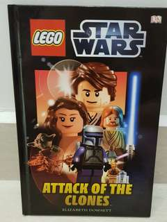 Lego Star Wars Book - Attack of the clones