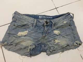 Tattered shorts