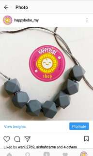 Teething Necklace Teether baby