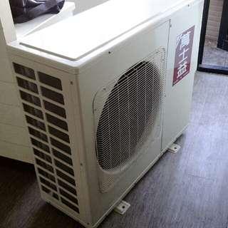 萬士益變頻空調冷暖機一對二(一噸半對一噸半)