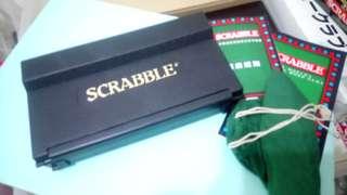 【意大利製*絕版珍藏】Travel Scrabble Word Game 益智英文拼字遊戲 兒童 小朋友 玩具 學習 英語 串生字 懷舊 旅行 方便攜帶