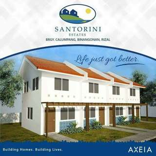 3BR SINGLE ATTACHED UNITS IN BINANGONAN!  SANTORINI ESTATES, Brgy. Calumpang, Binangonan, Rizal