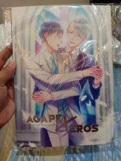 Agape x Eros Yuri on Ice Fanartbook