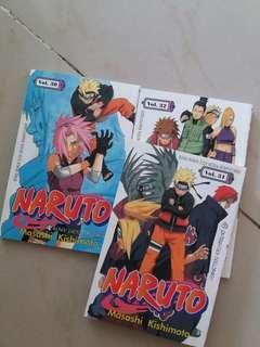 Naruto 30,31,32 komik