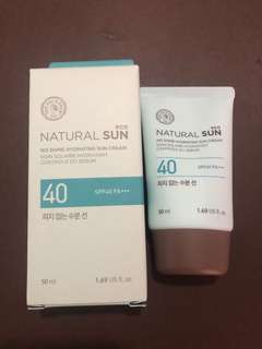 RUSH SELLING!!! The Face Shop Natural Sun eco