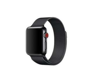 Apple Watch 太空黑龬織錶帶42mm