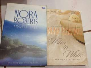 Novel Nora Roberts (preloved)