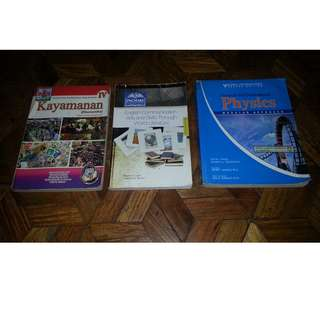 High School Books BUNDLE