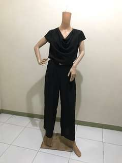"Free Shipping 35"" Jumpsuit Loose Neck"