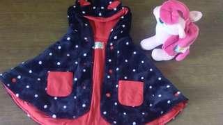 Polkadot coat
