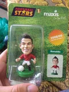 Maxis Football Stars Limited Edition : Ronaldo Figurine