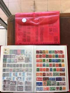 Cheap 2500 stamps worldwide mix from 1890-2000 NO DUPLICATES all different in German original album