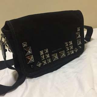 Marc Jacobs Chipped Studded Messenger Bag