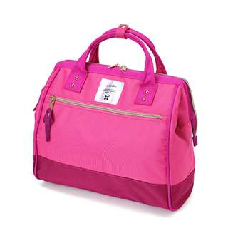 [100% Authentic] Anello Polyester 2 Way Sling Bag (Pink Multi)