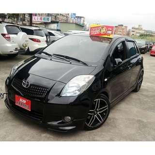 專辦全額貸 零元可交車 2008 TOYOTA  YARIS  1.5 黑色 自排