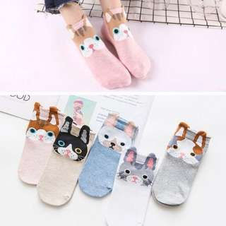 Korean Iconic Animal Socks