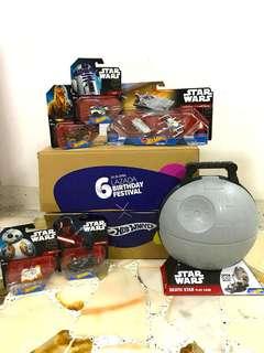 Lazada Hot Wheels Surprise Box Starwars Death Star