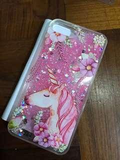 粉紅流沙 獨角獸 unicorn iPhone 7/7S plus case