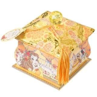Japan Disneystore Disney Store Belle Princess Party Memo Pad with Box