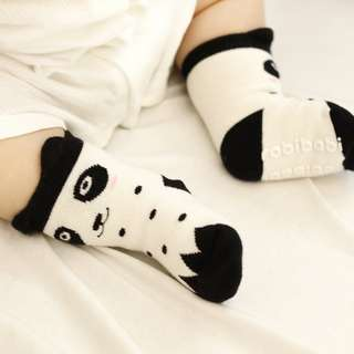 3 Pairs Panda Baby Socks Small Animal Cartoon