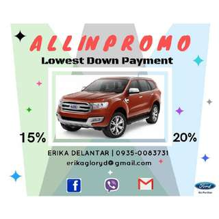 FORD EVEREST AMBIENTE 4X2 AT
