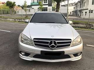 SAMBUNG BAYAR/CONTINUE LOAN  MERCEDES BENZ CGi C180 YEAR 2009/2010 MONTHLY RM 1500 BALANCE 7 YEARS ROADTAX OCT 2018 SPEC AMG SPORT TIPTOP CONDITION  DP KLIK wasap.my/60133524312/c180