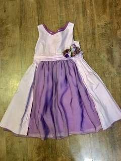 Periwinkle Purple Dress